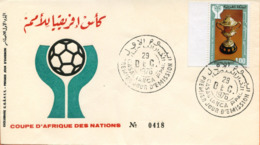 "Maroc; FDC 1976, TP N° 780 "" Coupe D'Afrique Des Nations ""Morocco,Marruecos - Maroc (1956-...)"