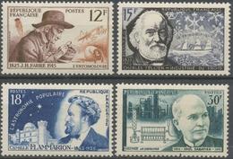 Série Inventeurs Et Chercheurs Célèbres. 4 Valeurs. Neuf Luxe ** Y1058S - Unused Stamps