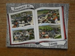 """Souvenir De Taingy , Multi-vues """" Prix De Départ Résonnable Voir Les Ventes Sur Delcampe """" - France"""