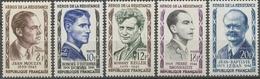 Série Héros De La Résistance (I) 5 Valeurs. Neuf Luxe ** Y1104S - Unused Stamps