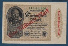 ALLEMAGNE - Billet De 1 Milliard Mark De 1922 - [ 3] 1918-1933 : Repubblica  Di Weimar
