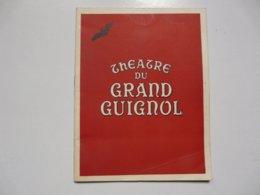 PROGRAMME - THEATRE DU GRAND GUIGNOL : Dr. JECKYLL Et Mr. HYDE - Programmes