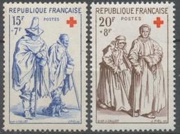 Série Au Profit De La Croix-Rouge.  Gravures De Jacques Callot (1592-1635)  2 Valeurs. Neuf Luxe ** Y1141S - Unused Stamps