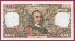 "100 Francs ""Corneille"" Du 04/01/1973.B ---F/TTB+---ALPH A.682 - 1962-1997 ''Francs''"