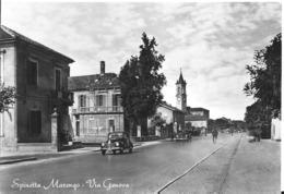 Cartolina Di Spinetta Marengo Via Genova - Alessandria