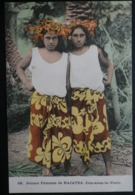 Tahiti Postcard. 19. Jeunes Femmes De Raiatea  (Iles Sous Le Vent) - Tahiti