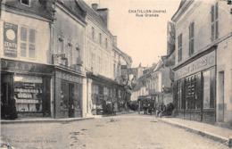 36-CHATILLON- RUE GRANDE - Autres Communes