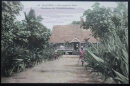 Tahiti Postcard. 59. Raiatea. Residence De L'Administrateur  (Iles Sous Le Vent) - Tahiti