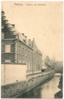 REBECQ 1907 Timbre 5c Rebecq Et QUENAST - Hospice Des Vieillards_2115 Edit Nestor Remy_CPA TTB - Rebecq
