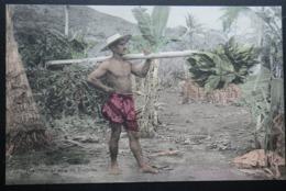 Tahiti Postcard. 31. Raiatea. Indigene De I'Ile De Raiatea (Iles Sous Le Vent) - Tahiti