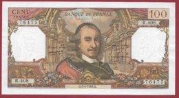 """100 Francs """"Corneille"""" Du 03/04/1969.Q ---VF/SUP---ALPH R.408 - 1962-1997 ''Francs''"""