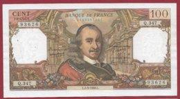 """100 Francs """"Corneille"""" Du 05/09/1968.L ---VF/SUP---ALPH Q.347 - 1962-1997 ''Francs''"""