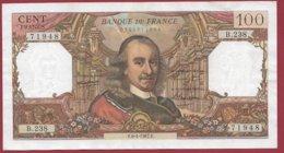 "100 Francs ""Corneille"" Du 06/04/1967.F ---F/TTB+---ALPH B.238 - 1962-1997 ''Francs''"