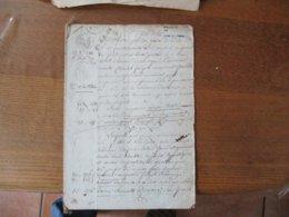 21 8 Bre 1811 VENTE PAR ADRIEN MAITE CULTIVATEUR AU VIEUX MESNIL A MAITRE JEAN BAPTISTE CHANNOY A AVESNES D'IMMEUBLES A - Manuscrits
