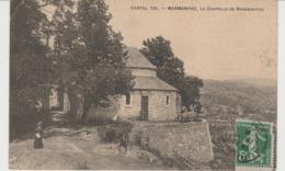CPA MARMANHAC (15) LA CHAPELLE DE ROQUENATOU - ANIMEE - Frankrijk
