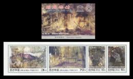 North Korea 2007 Mih. 5193/96 UNESCO World Heritage. Mausoleum Of King Ko KuK Won (booklet) MNH ** - Korea (Nord-)
