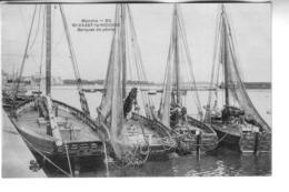 SAINT VAASTLA HOUGUE  Barques De Pêche - Saint Vaast La Hougue