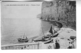 LES GRANDES DALLES  Falaise D'aval - France