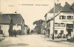 - Haut Rhin -ref-A657- Dannemarie - Route De Belfort - Buchhandlung - Eugène Hartmann - Carte Bon Etat - - Dannemarie