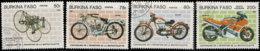 Burkina Faso 1985. ~ YT YT 653 à 55+A92 - 100 Ans Motocyclette - Burkina Faso (1984-...)