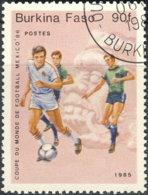 Burkina Faso 1985. ~ YT 668 - Mexico'86 - Burkina Faso (1984-...)