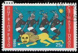 Burkina Faso 1985. ~ YT 671 - Danse Du Lion - Burkina Faso (1984-...)