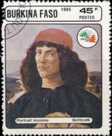 Burkina Faso 1985. ~ YT 686 - Italia'85. Portrait Inconnu - Burkina Faso (1984-...)