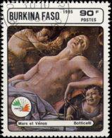 Burkina Faso 1985. ~ YT 687 - Italia'85. Mars & Vénus - Burkina Faso (1984-...)