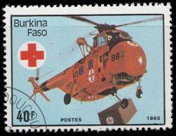 Burkina Faso 1985. ~ YT YT 688 - Hélicoptère Sanitaire - Burkina Faso (1984-...)