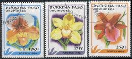 Burkina Faso 1996. ~ YT YT 994A/94C - Fleurs - Burkina Faso (1984-...)