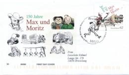 GERMANY Mi. Nr. 3146 150 Jahre Max Und Moritz  -FDC - [7] République Fédérale