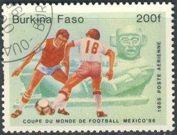 Burkina Faso Aérien 1985. ~ A 307 - Mexico'86 - Burkina Faso (1984-...)