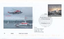 GERMANY Mi. Nr. 3153 150 Jahre Deutsche Gesellschaft Zur Rettung Schiffbrüchiger  -FDC - [7] République Fédérale