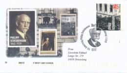 GERMANY Mi. Nr. 3165 150. Geburtstag Von Philipp Scheidemann  -FDC - FDC: Enveloppes