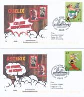 GERMANY Mi. Nr. 3178-3179 Asterix -FDC - BRD