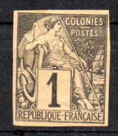 Col17  Emissions Générales N° 46 Non Dentelé Neuf (X) No Gum Bande Journaux   Cote : >>> Euros - Alphée Dubois