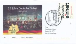 GERMANY Mi. Nr. 3182 25 Jahre Deutsche Einheit -FDC - FDC: Covers