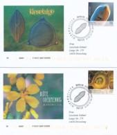 GERMANY Mi. Nr. 3192-3193 Mikrowelten  -FDC - FDC: Enveloppes