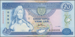 Cyprus / Zypern: 20 Pounds 1992, P.56a In Perfect UNC Condition. - Zypern