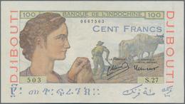 Djibouti / Dschibuti: Banque De L'Indochine – Djibouti 100 Francs ND(1946), P.19A, Excellent Conditi - Dschibuti