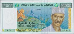 Djibouti / Dschibuti: 10.000 Francs ND(2009), P.45 Inperfect UNC Condition. - Dschibuti