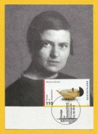 BRD 1998  Mi.Nr. 2002 , Marianne Brandt - Design In Deutschland - Hagenbach Maximum Card - Stempel Bonn 20.08.1998 - [7] Federal Republic