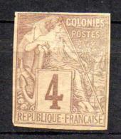 Col17  Emissions Générales N° 48 Non Dentelé Neuf (X) No Gum Bande Journaux   Cote : >>> Euros - Alphée Dubois