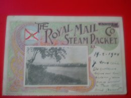 THE ROYAL MAIL STEAM PACKET S.S PARANAGUA - Venezuela