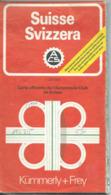 Carte Kummerly & Frey : SUISSE - 1 / 250 000ème - 1979. - Mapas Geográficas