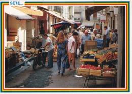 34 Sète, Une Des Vieilles Ruelles De La Ville Pleine De Charme Et De Gaieté - Sete (Cette)