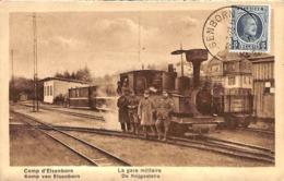 Camp D'Elsenborn - La Gare Militaire (animée Train 1923) - Elsenborn (camp)