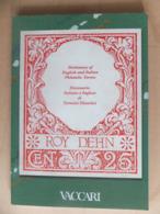 Dictionary Of English And Italian Philatelic Terms Dizionario Italiano E Inglese Di Termini Filatelici Vaccari - Sellos