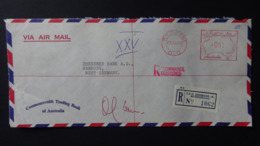 Australia - 1972 - Freistempel - 0.85 - 29 XII 72 - Brisbane - Registered Mail - Look Scan - 1966-79 Elizabeth II