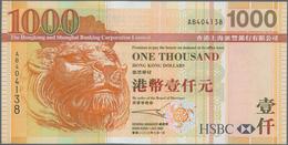 Hong Kong: Hongkong & Shanghai Banking Corporation Limited 1000 Dollars 2003, P.211a In Perfect UNC - Hong Kong